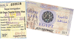 S'occuper des visas