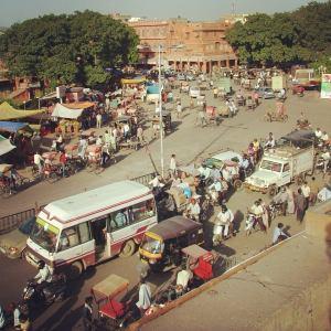 Jaipur dans le Rajasthan, Inde