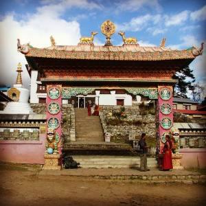 Le Temple bouddhiste de Tengboche au Népal