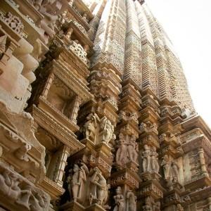 Le Javari Temple hindou à Khajuraho, en Inde