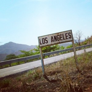 La ville de Los Angeles, au Mexique