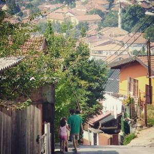 À flanc de colline, à Sarajevo