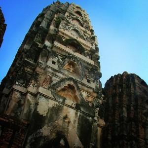 Le Wat Sri Sawai, à Sukhothai en Thaïlande