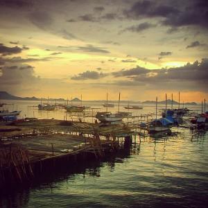 Le port de Labuanbajo, sur l'île de Flores en Indonésie
