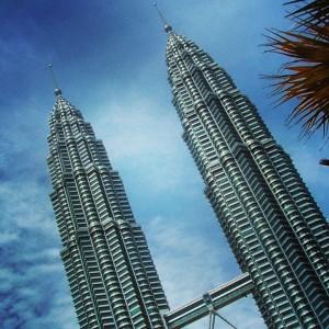Les tours Petronas de Kuala Lumpur en Malaisie