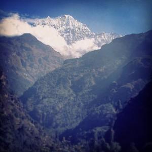 Le Mont Himchauly, au Népal