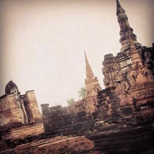 Les Temples de Sukhothai, en Thailande